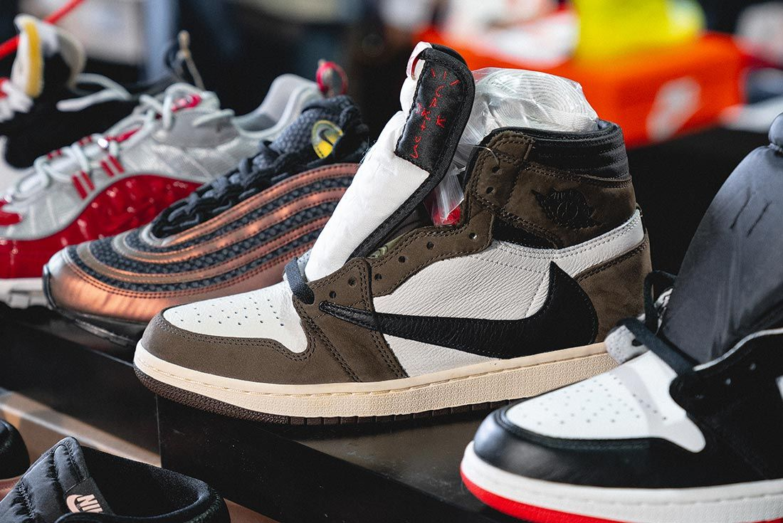 Sneakerness London Event Recap Travis Scott Air Jordan 1