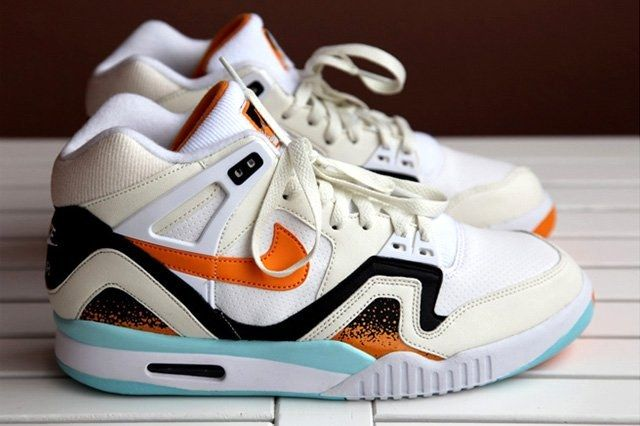 Nike Air Tech Challenge Ii White Kumquat