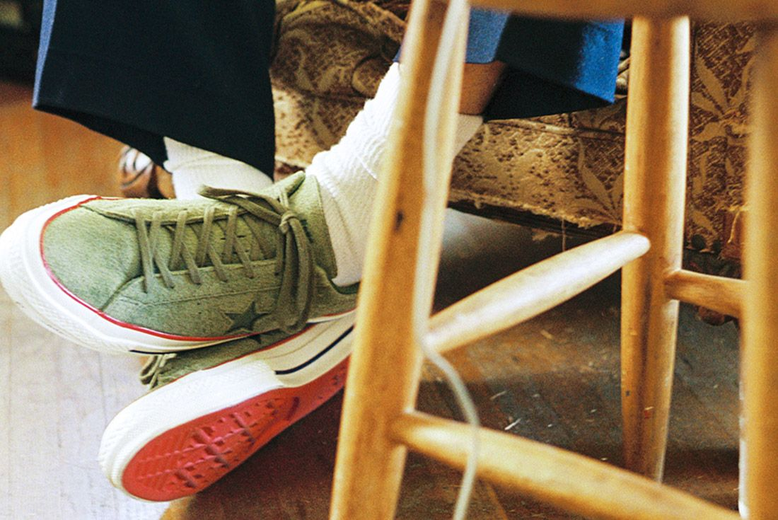 Converse Undefeated One Star Suede 1