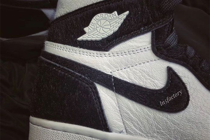 Air Jordan 1 High Og Panda Right