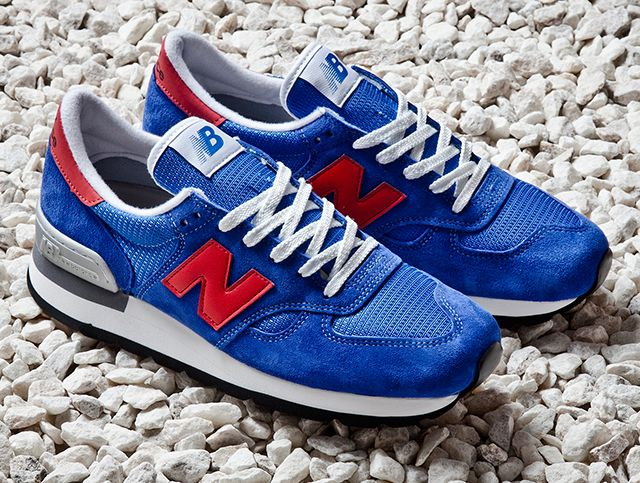 Nb 990 Blue Red Made In Usa