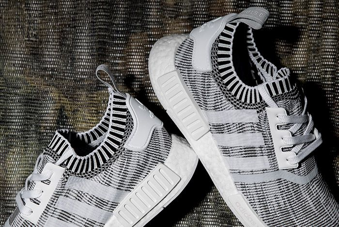 Adidas0 Nmd R1 Primeknit White Linen Khaki Black 5