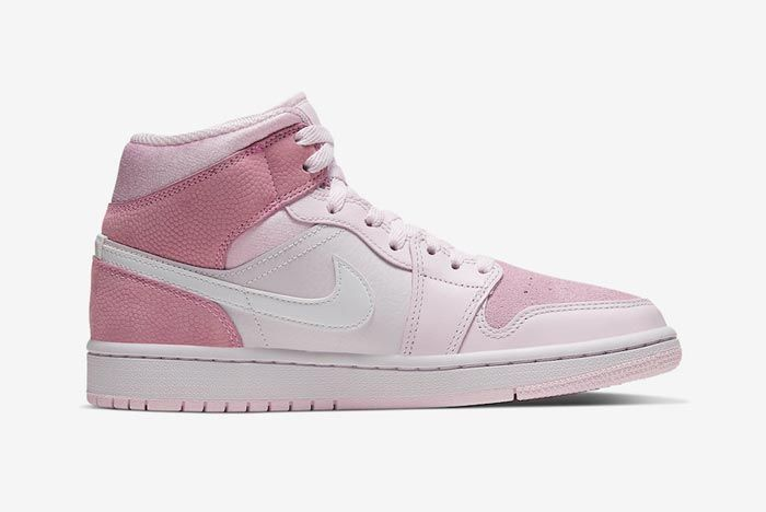 Air Jordan 1 Mid Wmns Digital Pink Medial