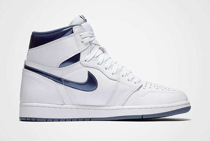 Air Jordan High Retro Metallic Navy 4