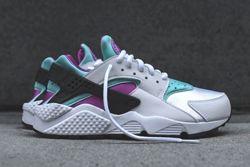 Nike Wmns Huarache Fuschia Teal Bump Thumb