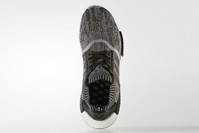 Adidas Nmd R1 Black White 1