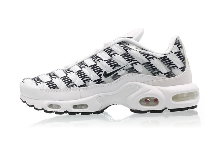 Nike Air Max Plus White Black Cj5331 100 Release Date Lateral