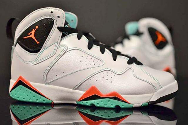 Air Jordan 7 Verde 2