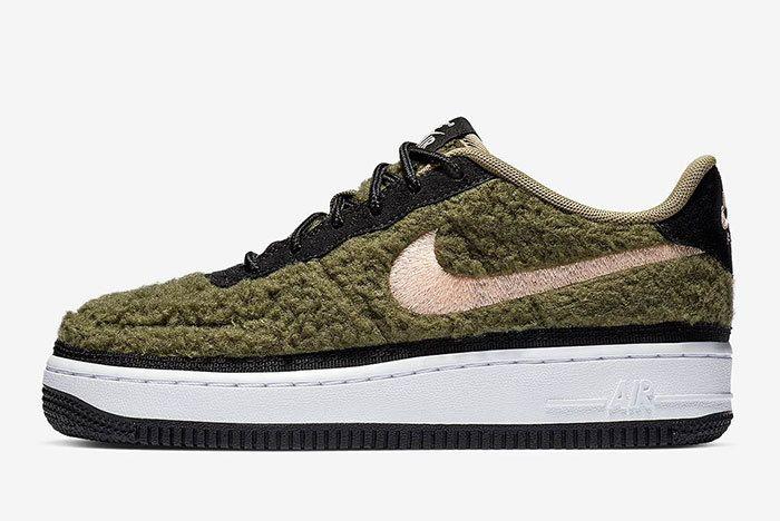 Nike Air Force 1 Low Shearling Av6673 300 2