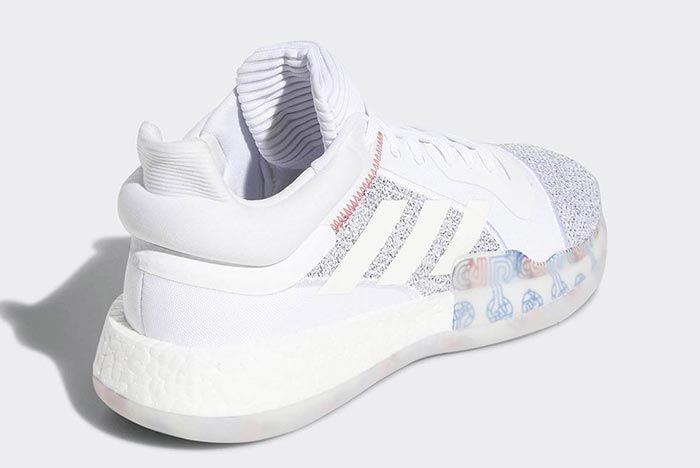 Adidas Marquee Boost White Low 2