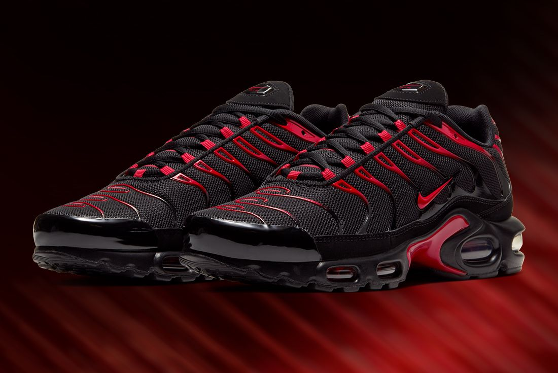 Nike Tuned 'Red Belly Black'