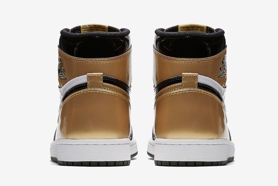 Gold Toe Air Jordan 1 861428 007 Sneaker Freaker 7