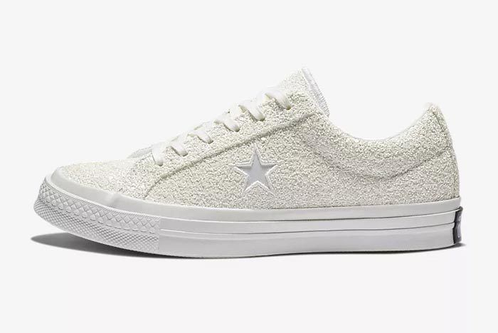Converse One Star White Glitter 1