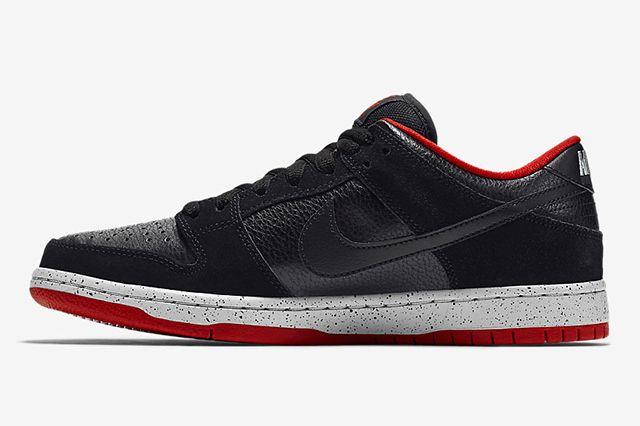 Nike Sb Dunk Low Black Cement2