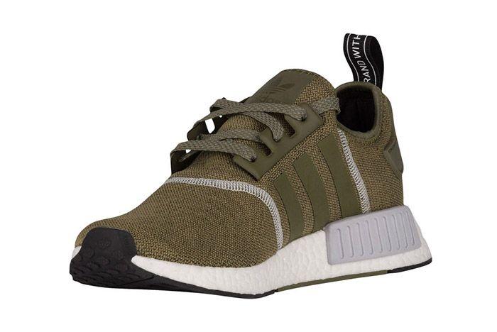 Adidas Nmd R1 Olive Green 4