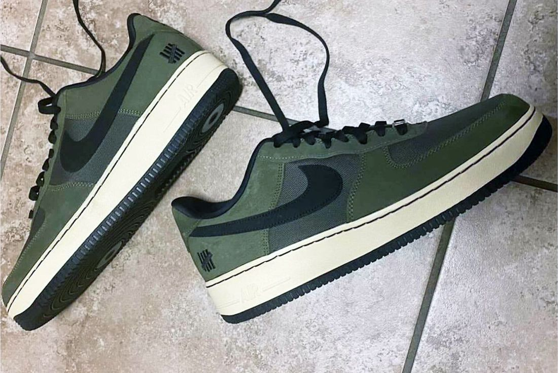 UNDEFEATED x Nike Air Force 1 'Ballistic' leak