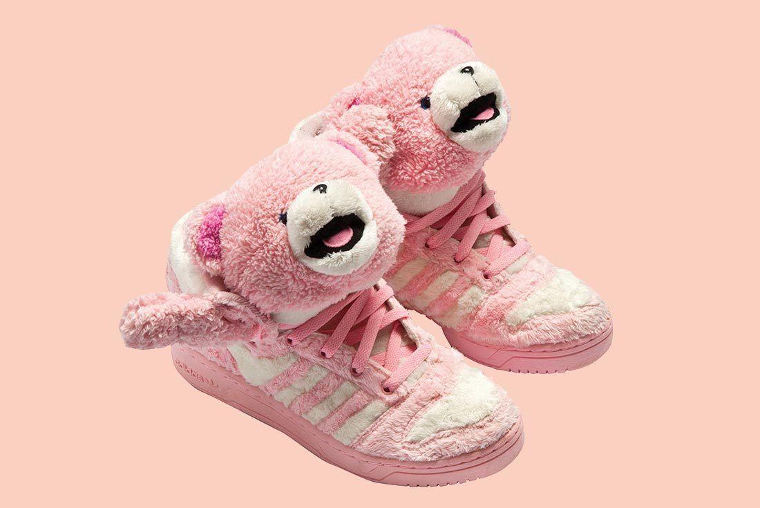 Adidas Jeremey Scott Pink Bear
