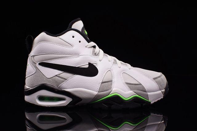 Nike Air Diamond Fury 96 White Voltage Green 3