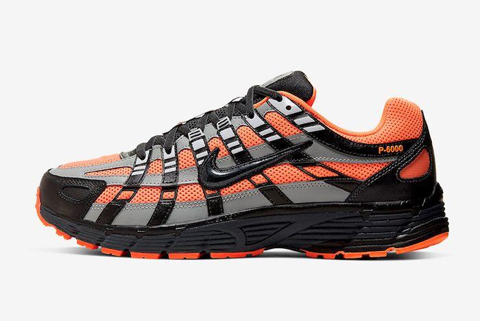 Nike P 6000 Total Orange Left
