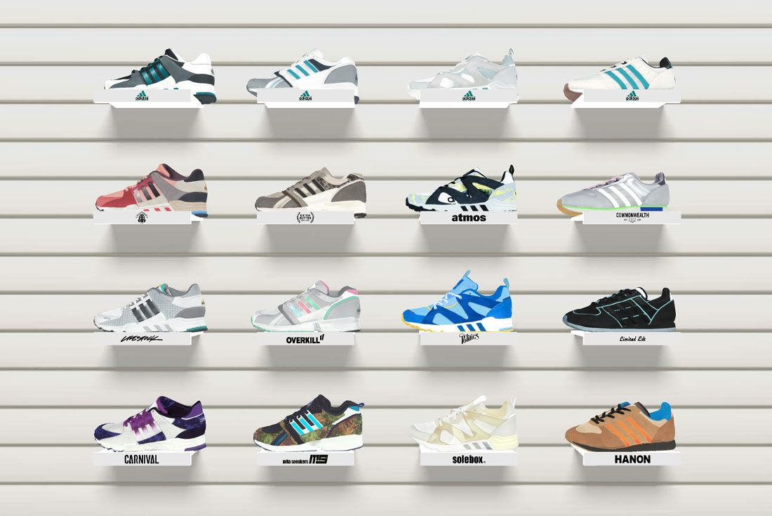 adidas Life Needs Equipment Website