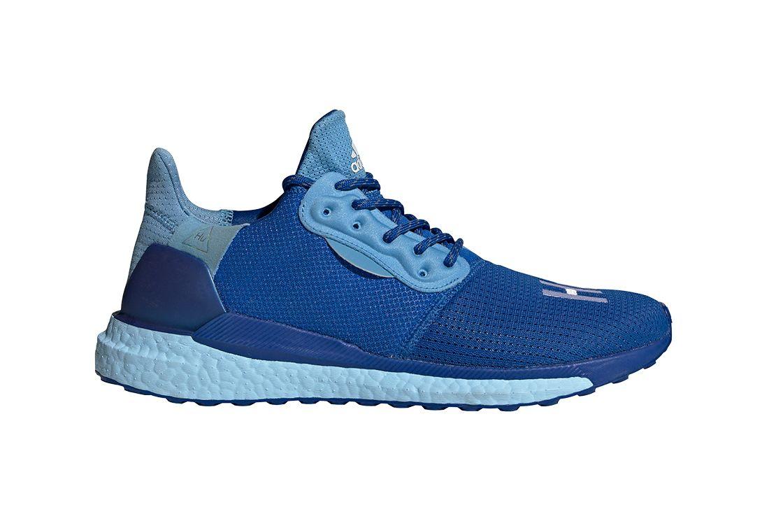 Adidas Pharrell Williams Solar Hu Blue Right
