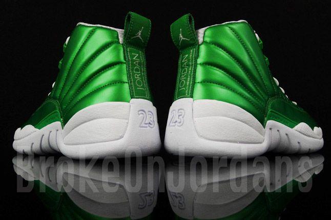 Jordan 12 Metallic Green Sample 06 1