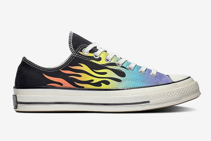 Converse Chuck 70 Flames Right Side Shot