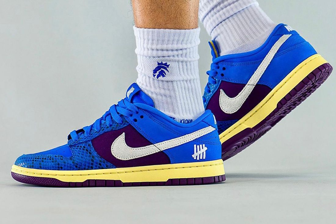 UNDEFEATED x Nike Dunk Low 'Royal/Purple'