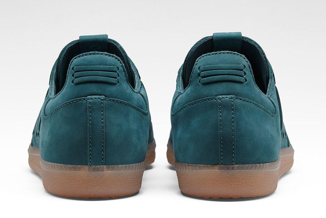 Adidas Consortium Womens Samba Deep Hue Pack Green 1