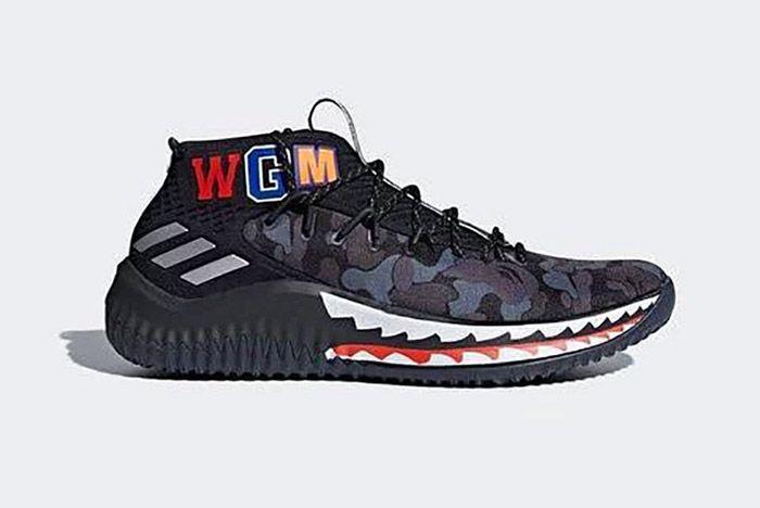 Adidas Bape Dame 4 2