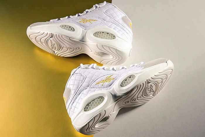 Reebok Question Mid White Party 8