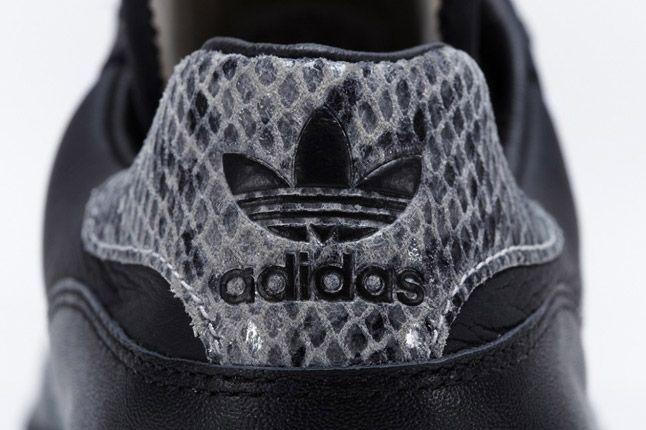 Black Adidas Rivalry Lo Limited Edition Heel 1