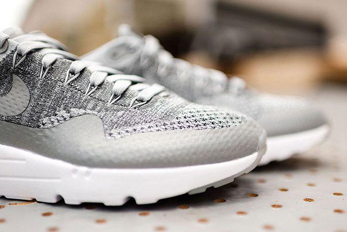 Nike Air Max 1 Flyknit Wolf Grey 4