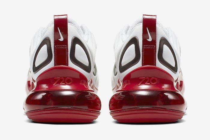 Nike Air Max 720 Womens Gym Red Heels