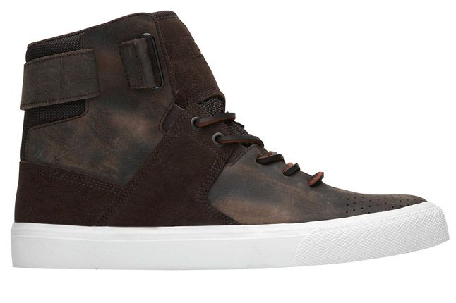 Dc Graduate Brown Leather Footlocker Profile 1