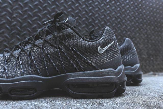 Nike Am95 Jacquard Black Grey Bumper 2