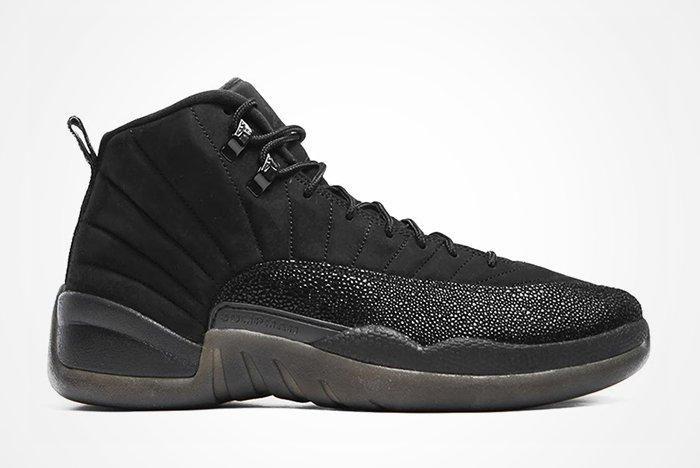 Drake X Air Jordan 12 Ovo Black Stingrayfeature