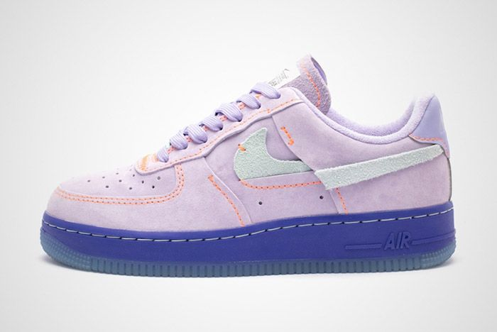 Nike Air Force 1 07 Lux Purple Agate Ct7358 500 Lateral