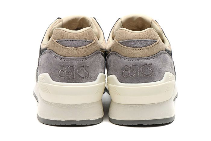 Asics Gel Respector Cream Dark Grey 1