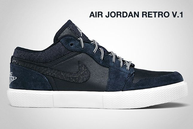 Air Jordan Retro V 1 Obsidian 1