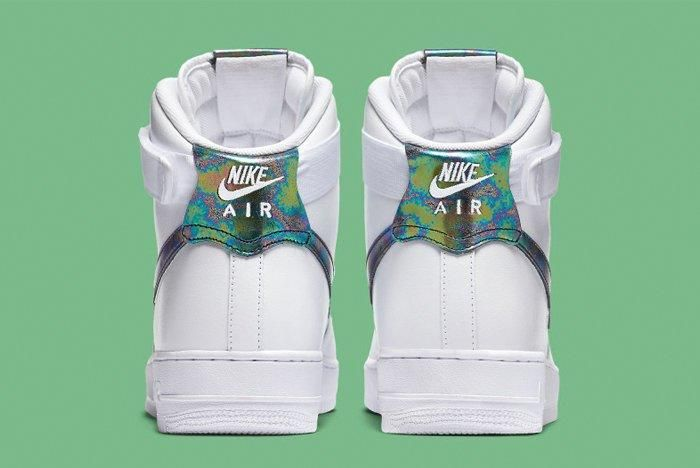 Nike Air Force 1 High Iridescent 1