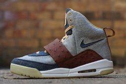 Jbf Customs Nike Air Yezzy Ostrich Denim 1