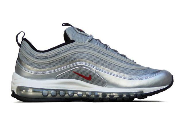 Nike Air Max 97 Premium Tap Qs Silver Bullet 1