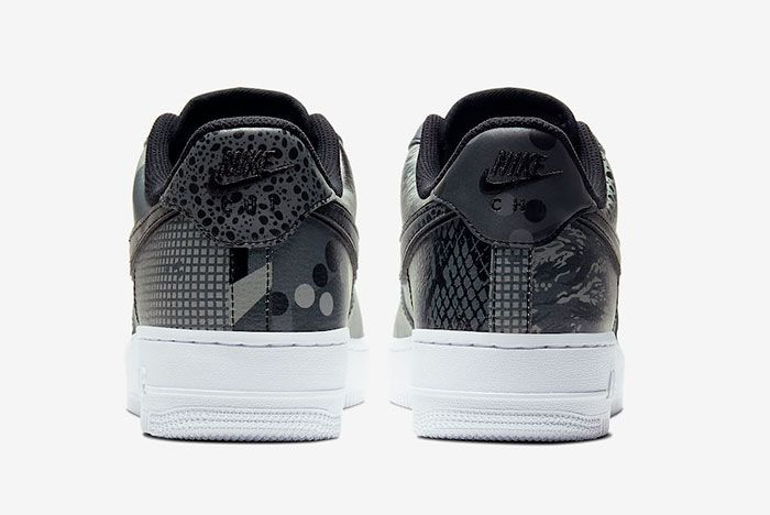 Nike Air Force 1 Low Chicago Ct8441 001 Heel Shot
