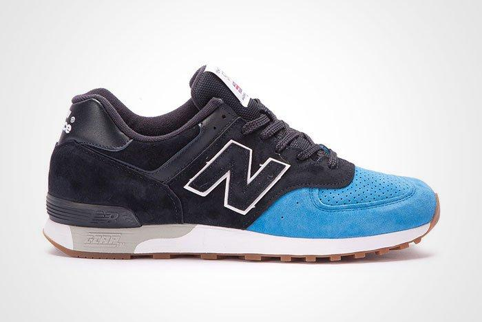 New Balance 576 Made In England Black Blue Twit