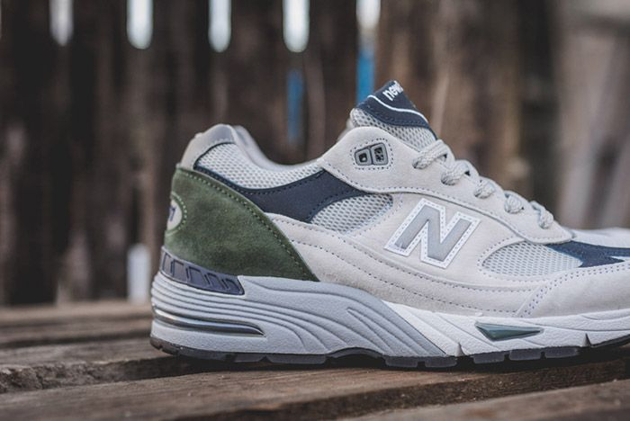 New Balance 991 Wgn Made In England Grey 5