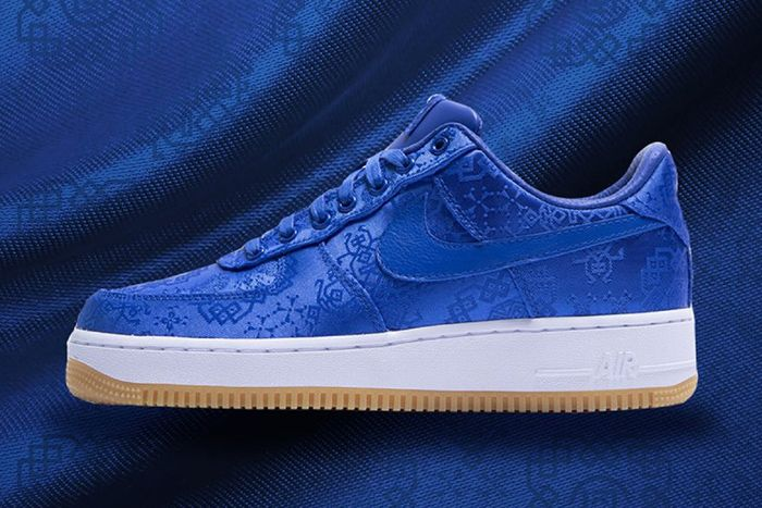 Clot Nike Air Force 1 Low Royale University Blue Silk Cj5290 400 Release Date Hero