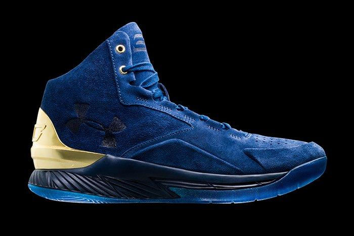 Under Armour Curry Luxe Suede Pack