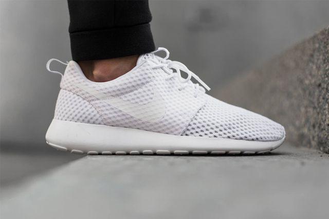 Nike Roshe Run Breeze Whitewolf Grey 2