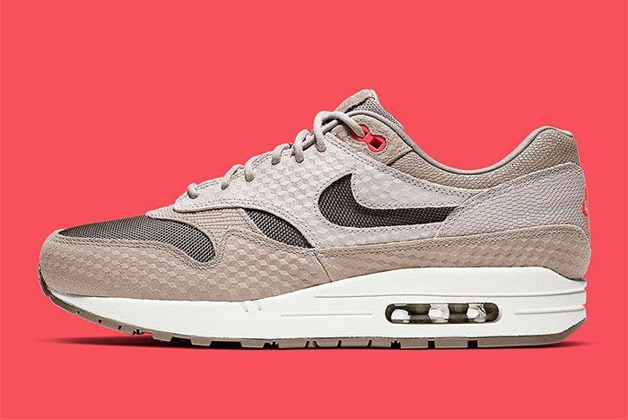 Nike Air Max 1 Tan Infrared 875844 205 5